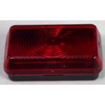Äärivalo 74x45mm punainen S 130
